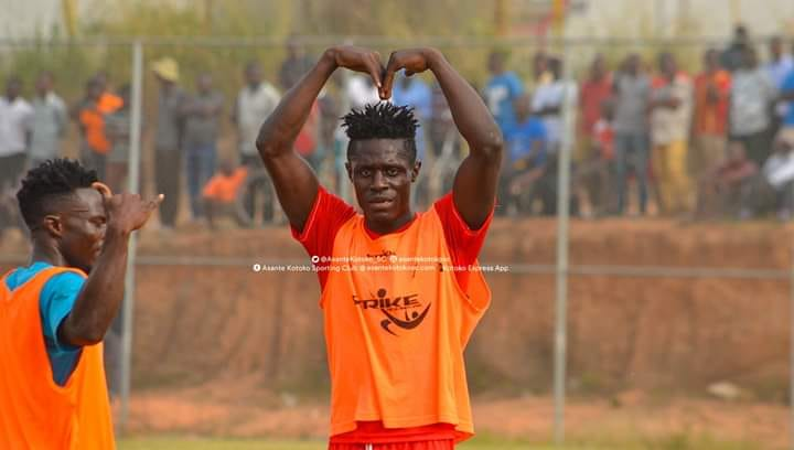 Kwame Poku bags five goals in Asante Kotoko's friendly win over Jachie Youth Academy