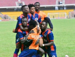 Legon Cities FC beat Inter Allies 3-0 to advance to MTN FA Cup Round of 32