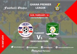 2019/20 Ghana Premier League Matchday 10 Preview: Liberty professionals v Aduana Stars