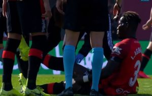 Lumor Agbenyenu: Injured Real Mallorca left-back to undergo scan to determine extent of damage on thigh