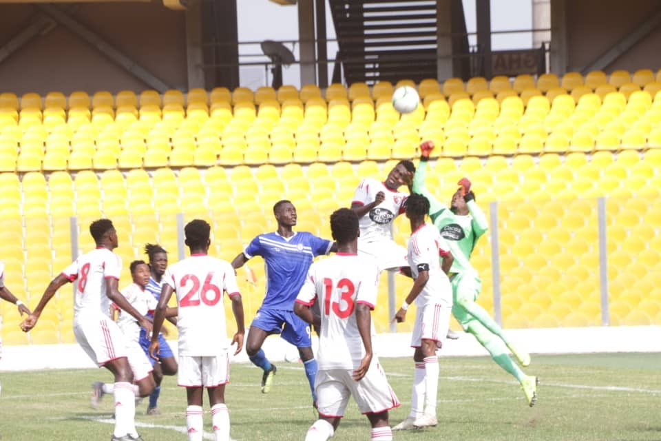 2019/20 Ghana Premier League Match Week 7 Report: Olympics 0-1 WAFA