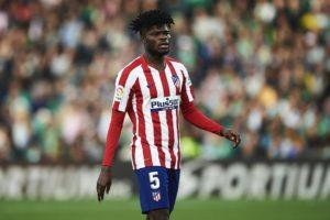 Milestone: Partey enjoys 100th win in Atlético Madrid colours