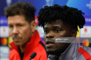 Partey describes Diego Simeone as a father to Atletico Madrid players