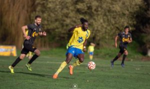 Ghanaian forward Sheriff Deo Mohammed set sights on LigaPro qualification with FC Arouca