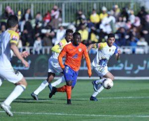 Al Fayha winger Samuel Owusu impressed with his performance in the Saudi topflight league