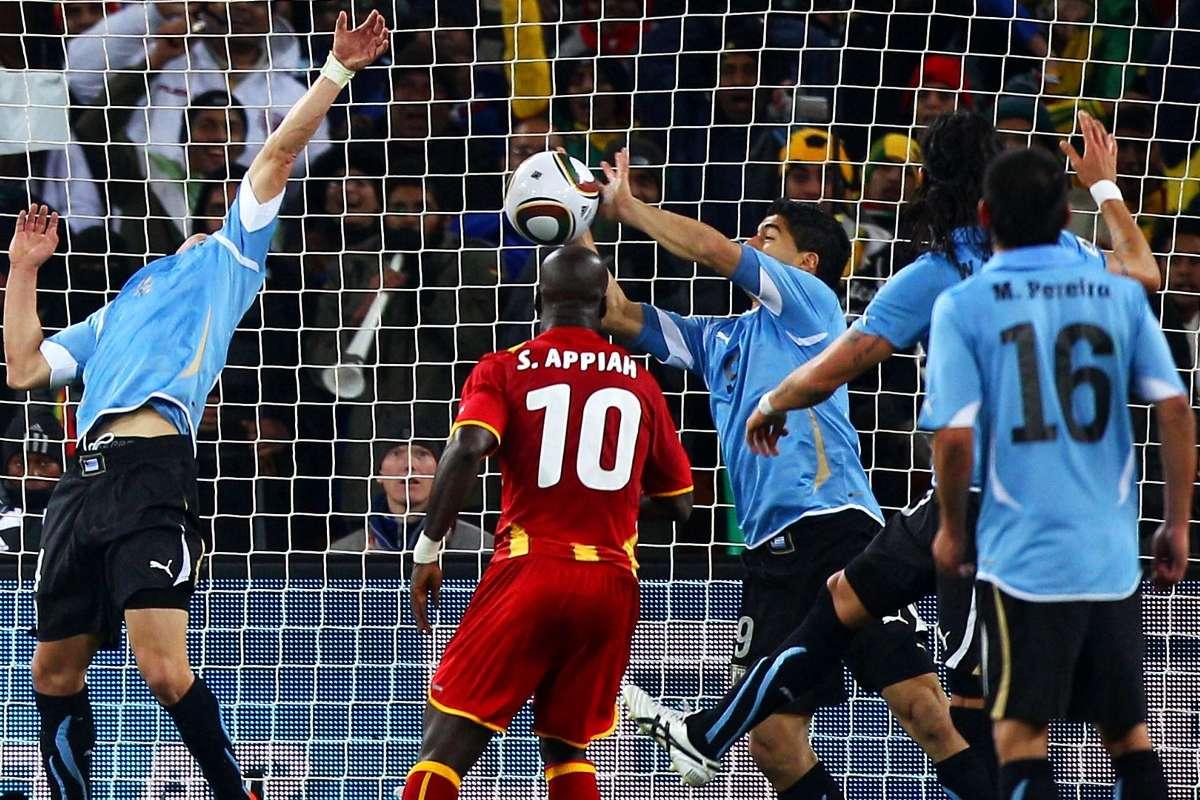 2010 World Cup: Remembering Suárez's handball against Ghana