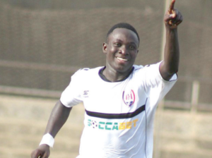 Inter Allies skipper Victorien Adebayor becomes all-time leading goalscorer after nine matches