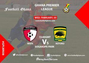 Ghana Premier League Matchday 8 Preview: WAFA v Kotoko