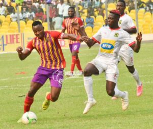 Friendly: Hearts vs Kotoko match in London to be live on GTV, English referees to officiate