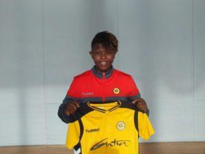 FC Gintra Universitetas sign Black Queens star Priscilla Okyere