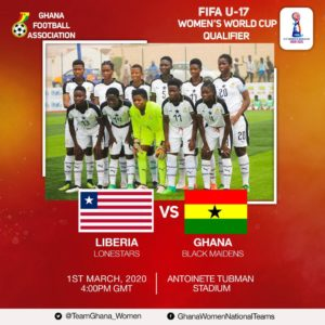 FIFA U-17 WC Qualifiers: Ghana Black Maidens vs Lone Stars of Liberia - Preview