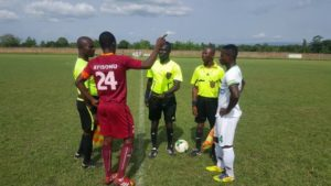 GFA confirm match officials for DOL match day five
