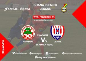 Ghana Premier League Matchday 8 Preview: Eleven Wonders v Inter Allies