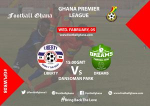 Ghana Premier League Matchday 8 Preview: Liberty Professionals v Dreams FC