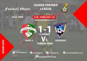 Ghana Premier League matchday 9 report: Karela and Medeama share the spoils