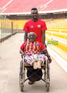 Former Hearts MD commends Emmanuel Nettey's kind gesture to physically challenged fan