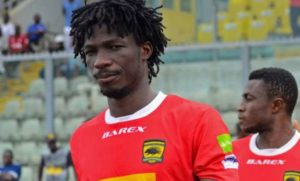 Songne Yacouba omitted from Asante Kotoko squad to face Hearts of Oak in UK