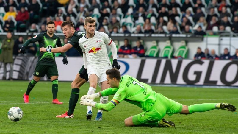 RB Leipzig slip up again with goalless draw at Wolfsburg