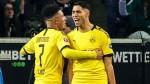 Dortmund move into second spot with 2-1 win at Gladbach