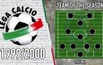 Serie A Team of the Season | 1999/2000