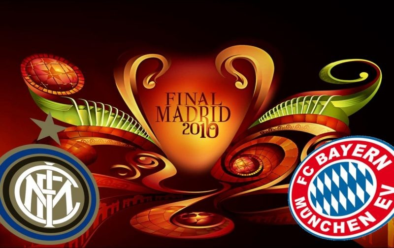 Champions League Final LIVE: Inter v Bayern Munich 2010