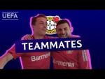 LEVERKUSEN Teammates: KEVIN VOLLAND and JULIAN BAUMGARTLINGER