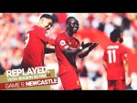 REPLAYED: Liverpool 3-1 Newcastle Utd | Mane's double & Firmino's fantastic assist