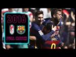 FULL MATCH: Granada - Barça (2016) When FC Barcelona won the La Liga title in style!