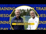 Home Exercises for Kids with Chelsea Players | Training with Sophie Ingle | Chelsea Challenge Ep.2