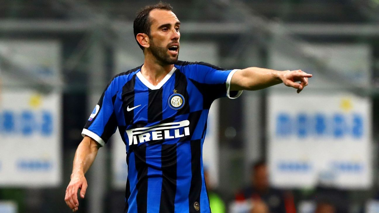 Inter Milan's Diego Godin: Health crisis in Italy became 'untenable'