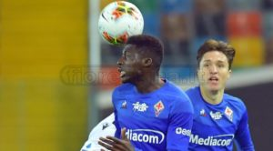 Ghanaian midfielder Alfred Duncan features in Fiorentina's goalless draw against Cagliari