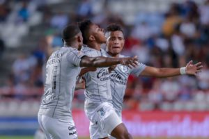 VIDEO: Watch Clifford Aboagye's strike that earned a point for Gallos de Queretaro in draw against Pachuca