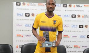 Prince Opoku-Agyemang eyes golden boot after brace against Legon Cities