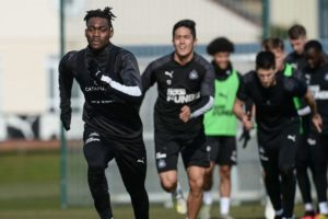 Atsu continues training in Ghana to keep fit for return of EPL