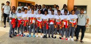 Black Maidens touch down in Ghana after beating Liberia