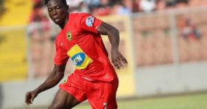 Midfielder Justice Blay confess he watches videos of N'Golo Kanté before matches