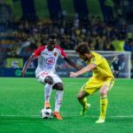EXCLUSIVE: Slavia Mozyr's Dennis Tetteh to have scan on hamstring injury on Monday