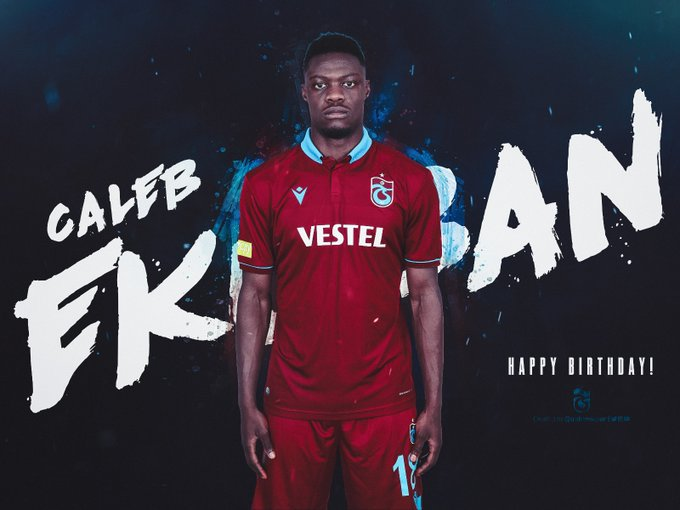Trabzonspor wish Caleb Ekuban a happy 26th birthday