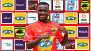 OFFICIAL: Emmanuel Sarkodie joins Asante Kotoko on a three-year deal