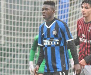 Inter Milan teenager Enoch Owusu confess love for PSG poster boy Neymar