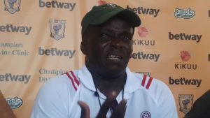 Unhappy Ebusua Dwarfs coach tear apart match officials after losing to Great Olympics