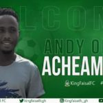 King Faisal announce signing of Andy Oduro Acheampong