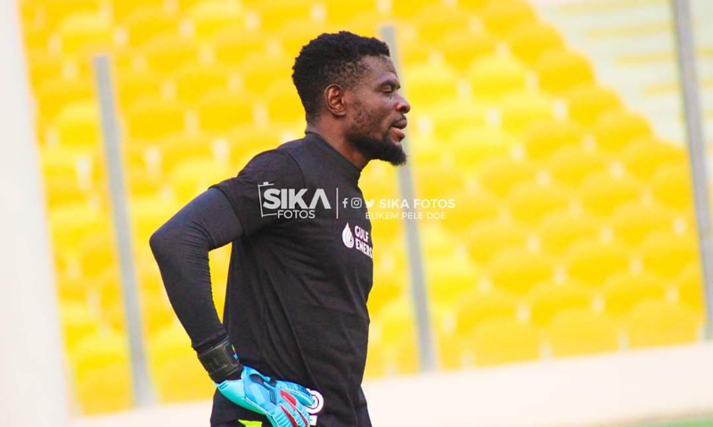 Fatawu Dauda insists training at home as a goalkeeper during this period will be difficult