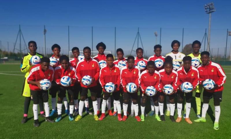 Morocco FA donates footballs to Black Princesses