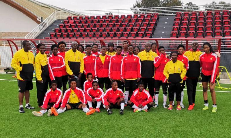 Black Princesses touch down for Morocco clash on Sunday