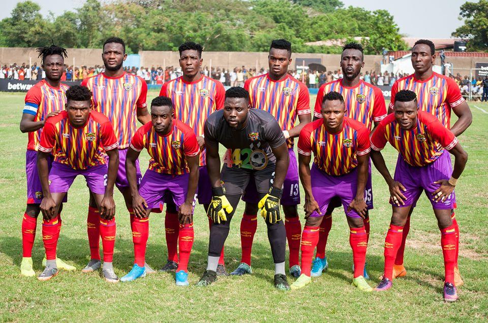 Ghana Premier League matchday 12 report: Hearts draw 1-1 with Elmina Sharks
