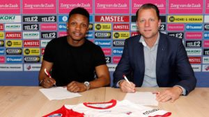Issah Abass uncertain about future at Utrecht future with contract set to expire this summer