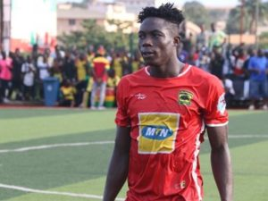 Kotoko midfielder Justice Blay reveals plans to build a hospital for his village