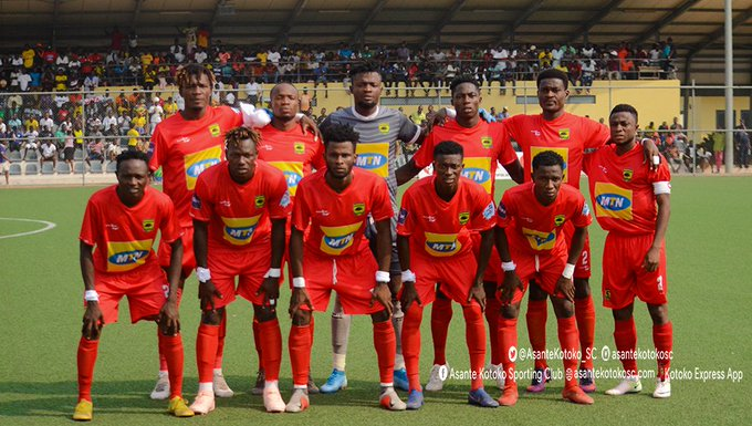 Maxwell Konadu name Kotoko's starting eleven for Karela Utd game: Baah continues in post as Yacouba start from the bench