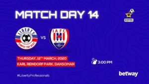Coach David Ocloo name Liberty's starting lineup for Inter Allies clash